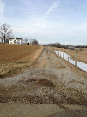 Here is the driveway as it exists.  The fence to the right can moved further away from the driveway if needed.