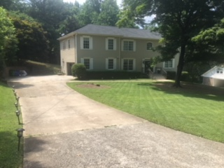 View from driveway, left
