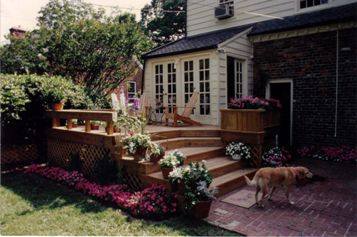 Deck Steps as a Design Element