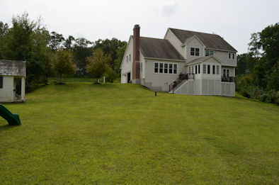 picture of the back of our house