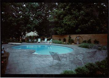 Gunite Swimming Pool
