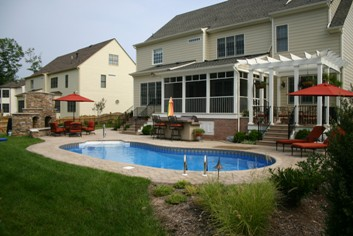 A Swimming Pool Is The Ultimate Back Yard Accessory