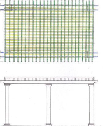 Pergola Detail Using Composite Lumber