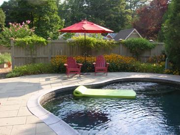 Concrete Paver Pool Deck